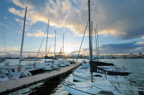 ormeggi catamarani
