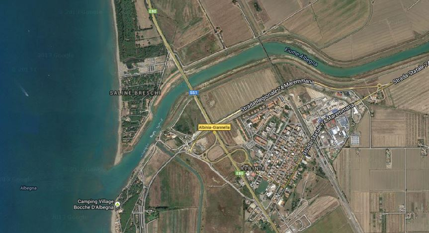 Nautica sociale – 90 posti barca sul fiume albegna