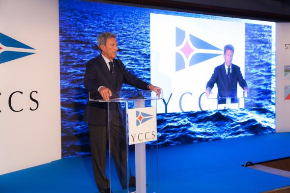 Il commodoro dello YCCS Riccardo Bonadeo