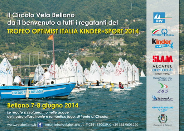 optimist bellano locandina