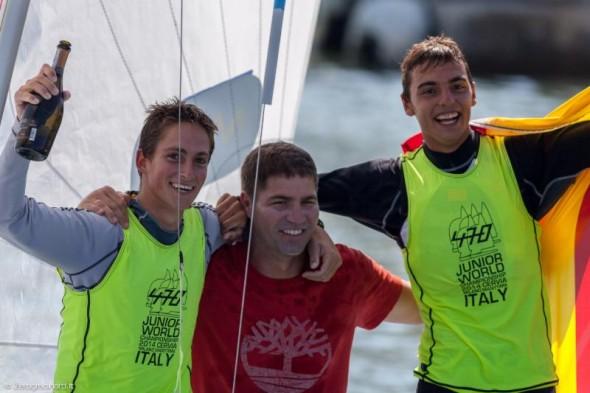 470 Junior World Championship 2014 podio 01