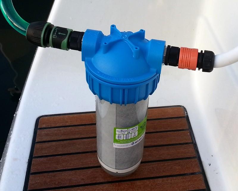 Filtro depurazione acqua dolce in kit per barche  VelaBlog Mistro
