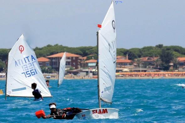 Trofeo Optimist Italia Kinder 2014 a Marina di Grosseto – Classifiche e foto