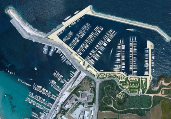 progetto porto turistico otranto