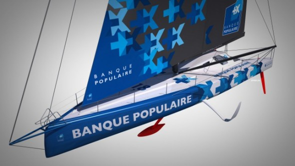 Banque Populaire VIII con i foil