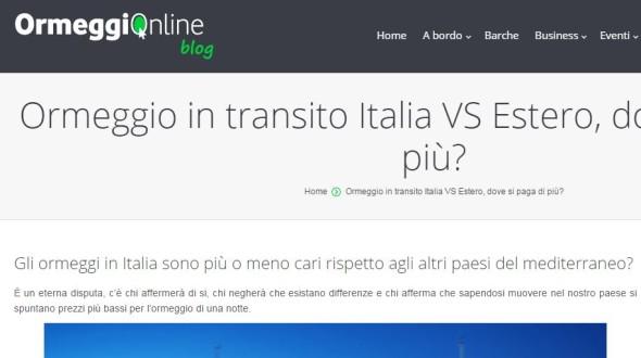 ormeggiOnline italia vs estero