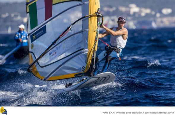 Mattia Camboni (foto Jesus Renedo/Sailing Energy/Sofia)