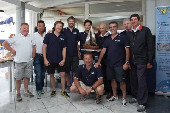 podio tricolore 2016