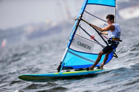 Mattia Camboni (foto Sailing Energy/WorldSailing/FIV)