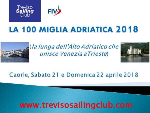 100 Miglia Adriatica del Treviso Sailing Club