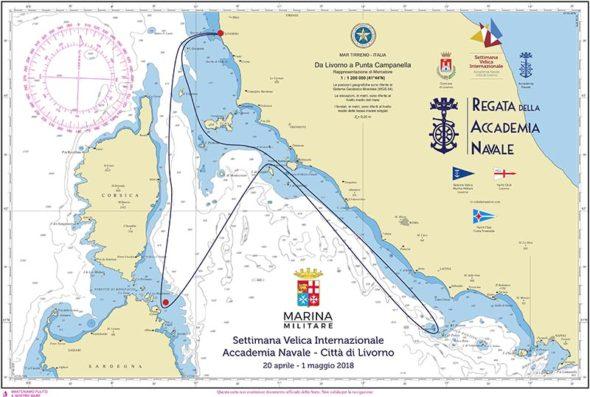 la Regata dell'Accademia Navale