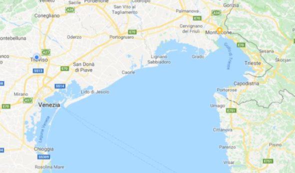 Porti e darsene dell'alto Adriatico da Chioggia a Monfalcone