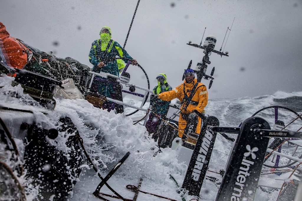 Volvo Ocean Race Team AkzoNobel leg 9