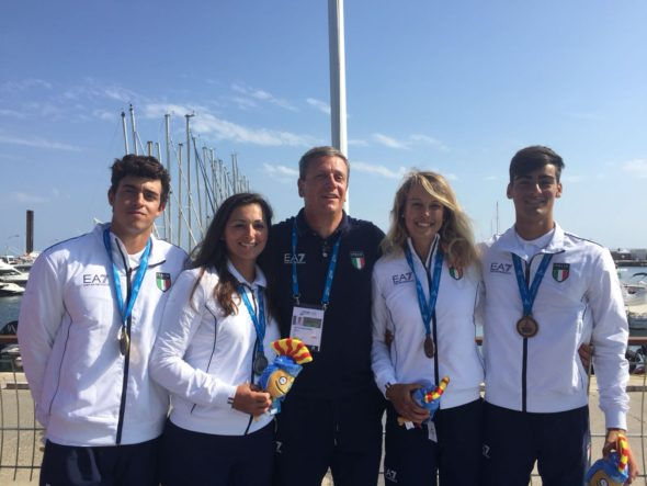 Giochi mediterraneo 2018 medalglie ita