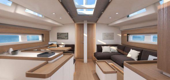 Beneteau First Yacht 53 interni