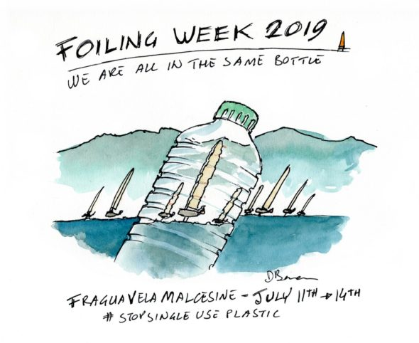 we are all in the same bottle - Foiling Week 2019