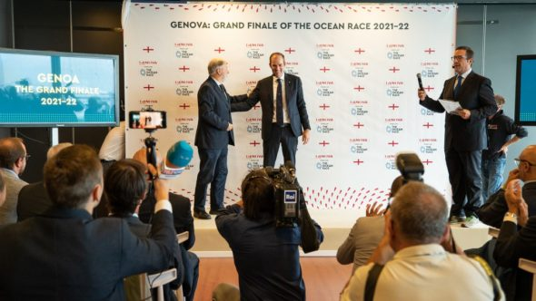 The Ocean Race 2021-22 presentazione Genova