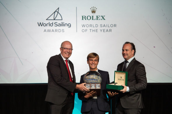Marco Gradoni vince il Rolex World Sailor of the Year
