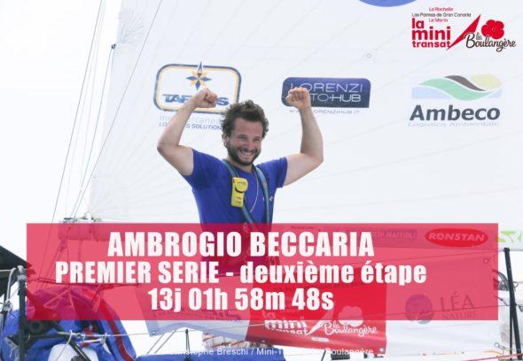 Ambrogio Beccaria vince la mini-transat 2019