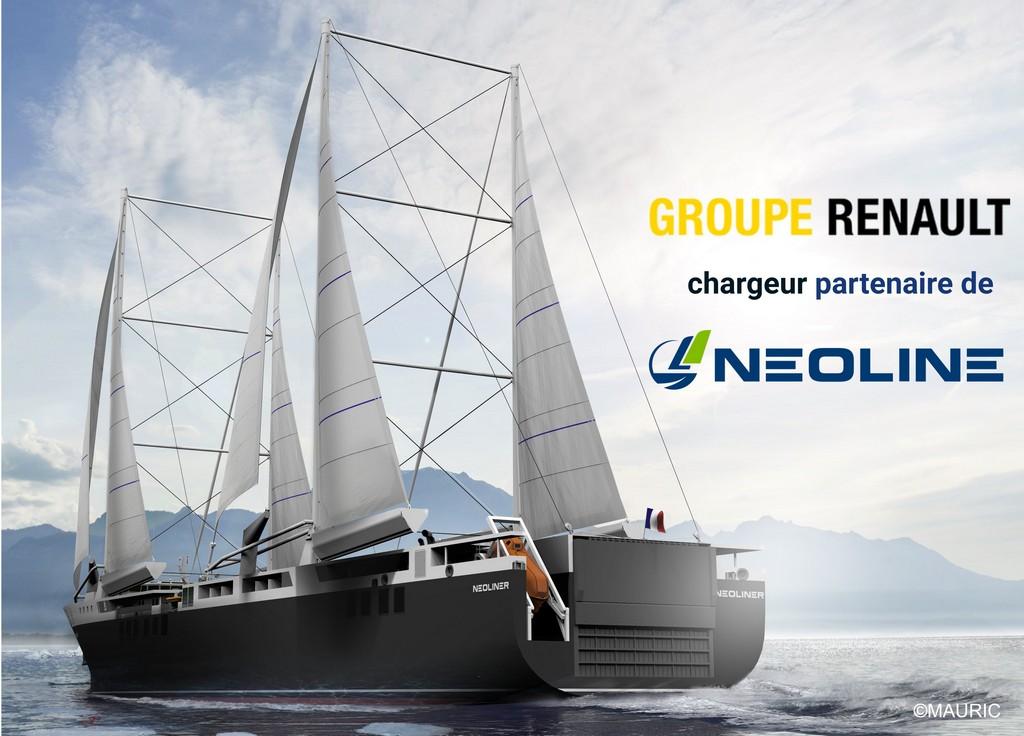 Renault diventa partner di Neoline, progettista e operatore di navi cargo a vela